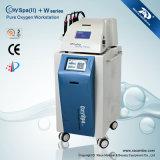 El rostro y cuerpo multifunción belleza oxígeno máquina utilizada en Medical SPA