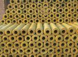 Труба термоизоляции стеклянной ваты изоляции изготовления Китая дешевая