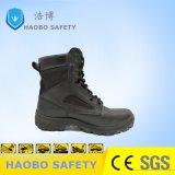 Precios baratos directa de fábrica Puntera cuero genuino del ejército militar Trabajo Industrial impermeable Zapatos de seguridad