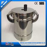 Mini-/klein/Labor/manuelles/elektrostatisches/Zufuhrbehälter des Edelstahl-304/des Puders