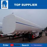 Remorques d'essence et d'huile de camion-citerne de Cbm du tri d'essieu de titan de paume réservoir 45 de stockage d'huile à vendre