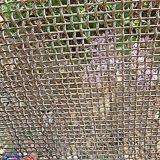 Divisorii decorativi tessuti uniti dello schermo del metallo della tenda dello schermo della rete metallica
