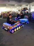 미친 탱크 성인과 아이를 위한 전기 쇼핑 센터 공원 사각 오락 차