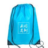 Barato promocional mochila saco para roupa suja