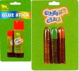 Клей палки и Блестящие цветные лаки клеи