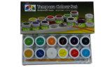 Tempera Jeu de couleurs de peinture de pigments de couleur