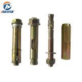 En acier au carbone Hilti plaqué zinc vis d'ancrage de l'expansion d'ancrage de filtre en coin Drop d'ancrage dans le manchon d'ancrage de l'ancrage (M6-M24)