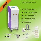 Machine neuve H-2004c de perte de poids de laser de diode du rouleau 6 de vide de la tête 1 de la cavitation rf du rose 5