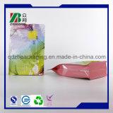 Sacs thermoscellés de gousset de côté de papier d'aluminium de catégorie comestible