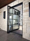 アルミニウム中心のピボットドア