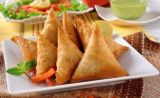 Curry 15g/Piece 100% Samosas végétal fabriqué à la main