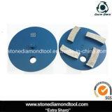 disco de moedura do diamante do metal dos segmentos de 100mm com 1 Pin
