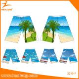 La playa de encargo de la impresión de la sublimación pone en cortocircuito el traje de baño para el hombre
