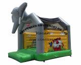 De Verbindingsdraad die van de Olifant van Dumbo van Kerstmis Opblaasbare Uitsmijter springt