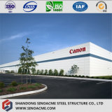 Large Span Canon Workshop with Steel Structure Frame