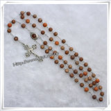 Godsdienstige Juwelen, Armband, Halsband, Trouwringen, Oorring, de Halsband van de Rozentuin (iO-Cr000)