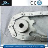 No Estándar estándar o de acero inoxidable 304 piñones de la cadena de rodillos de nylon