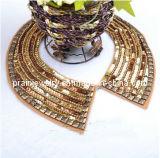 Flash coreano hechas a mano Collar Collar falso bisutería Conjunto de collar Collar de acrílico Collar Bisutería Bisutería (Pnc-008)