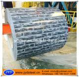 Bobine en acier de configuration de brique avec le modèle
