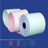 Papier-copie sans carbone de couleurs avec Qualiy élevé
