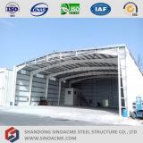 Sinoacme, das vor Stahlrahmen-Zelle-Flugzeug-Hangar ausführt