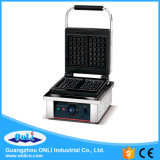 Ce Certificate Electric Square Non-Stick Plate Wafle Maker