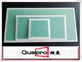 puerta de la portilla del acceso del aluminio de 450*450m m con las tarjetas de yeso AP7710