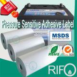 Mit hoher Schreibdichteoberfläche behandelte synthetische Materialien für Batterie-Aufkleber-Kennsätze