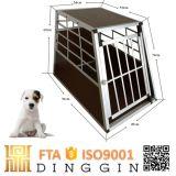 Cachorros Jardim Memória Engradado de cão de alumínio