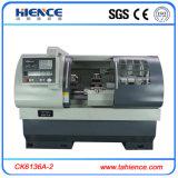 Tipo horizontal torno de giro Ck6136A-2 da maquinaria do metal do CNC