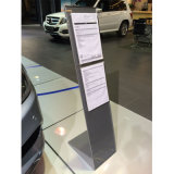 Metallico o Acrylic Material Literature Brochure Stand