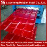 La Chine Hot Sale PPGI de tôle en acier ondulé en différentes tailles
