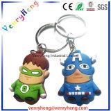 Chaîne principale de vente de dessin animé de trousseau de clés chaud de PVC pour le cadeau de promotion