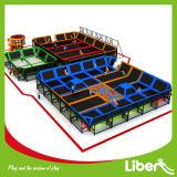 Manufacturer profissional Large Indoor Kids Trampoline para Park