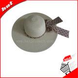 Шлем женщины бумаги сторновки широкого Brim неповоротливый