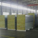 La vente directe d'usine de production de panneaux sandwich en laine de roche