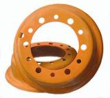 スキッドの雄牛のタイヤのための8.25X16.5 OTRの車輪の車輪の縁