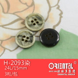 Il Polyester Imitation Marble 4-Holes Coat Button