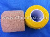 비 길쌈된 자동 접착 붕대 또는 삼각형 붕대 또는 탄력 있는 붕대 테이프