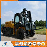 Diesel 4W aprovado do Ce todo o Forklift do terreno