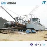 Imbarcazione di dragaggio della sabbia dell'imbarcazione della sabbia del fiume di 400 Cbm con il tubo di 400mm