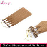 Entrega rápida 7A Remy Hair Hair Micro Loop Hair Extensions