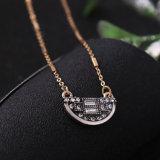 Способ ретро 3 наслоенных Chain Ожерелье Tassel пули привесное для женщин