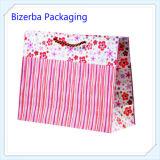 Poignée de promotion Papier de cadeau un sac de shopping/sac d'emballage