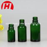 frasco de petróleo essencial azul de vidro do ouro 30ml20ml com conta-gotas