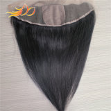 Silk niedrige Spitze-Stirnbein100% Mongolian-Jungfrau-Menschenhaar-Extension