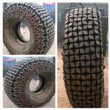 Corrente forjada da proteção do pneu da corrente de pneu do carregador para o carregador da roda