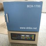 Horno de mufla eléctrico 1700 del laboratorio 8L