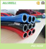 Tuyau à haute pression en plastique de gaz de tuyaux d'air de jet de PVC