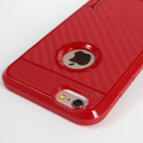iPhone를 위한 탄소 섬유 전화 상자 6 6plus 7 7plus